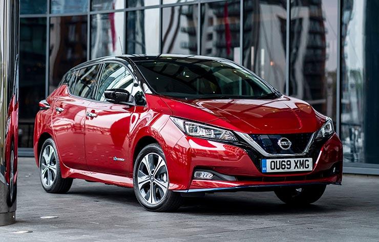 Nissan Leaf pour Uber à Londres
