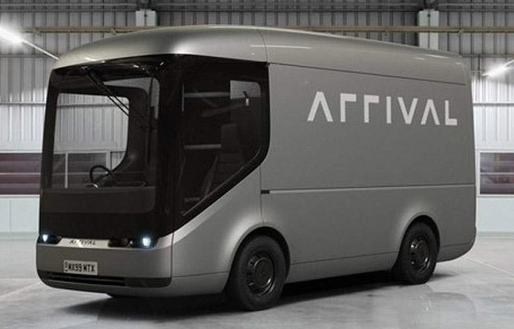 Van électrique anglais Arrival