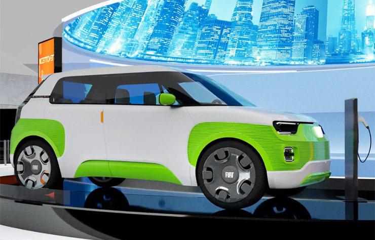 Concept Fiat Centoventi électrique