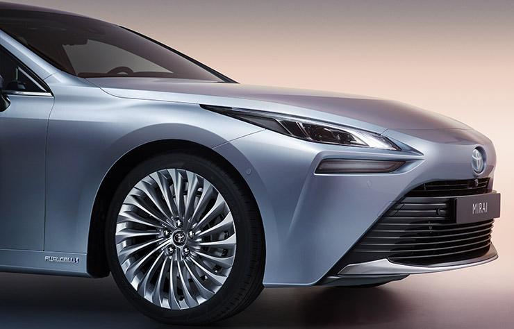 Toyota Mirai à hydrogène