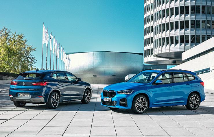 BMW X1 xDrive25e et BMW X2 xDrive25e