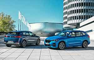 BMW X1 et X2 xDrive25e, les hybrides rechargeables compactes