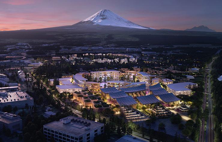 La ville du futur selon Toyota