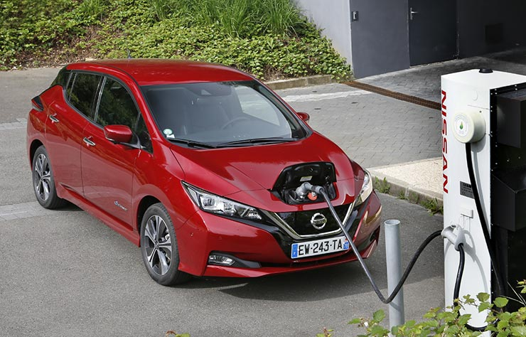 Application de recharge Nissan Charge
