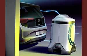 Les robots de charge Volkswagen, à priori une mauvaise idée