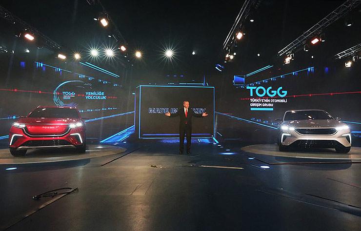 TOGG, voiture électrique turque
