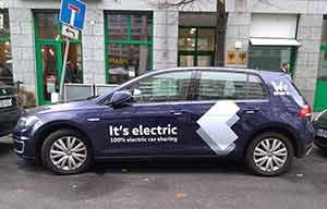 Elle va disparaître en 2020: la Volkswagen e-Golf