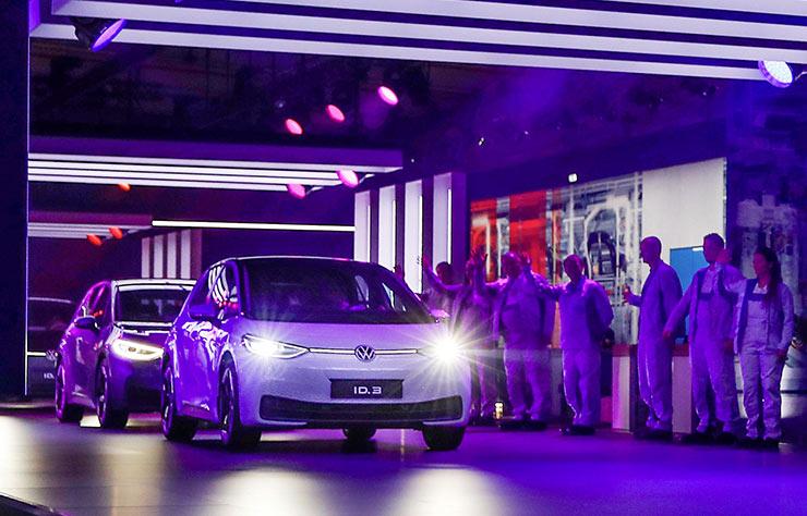 Entrée en production de la Volkswagen ID.3
