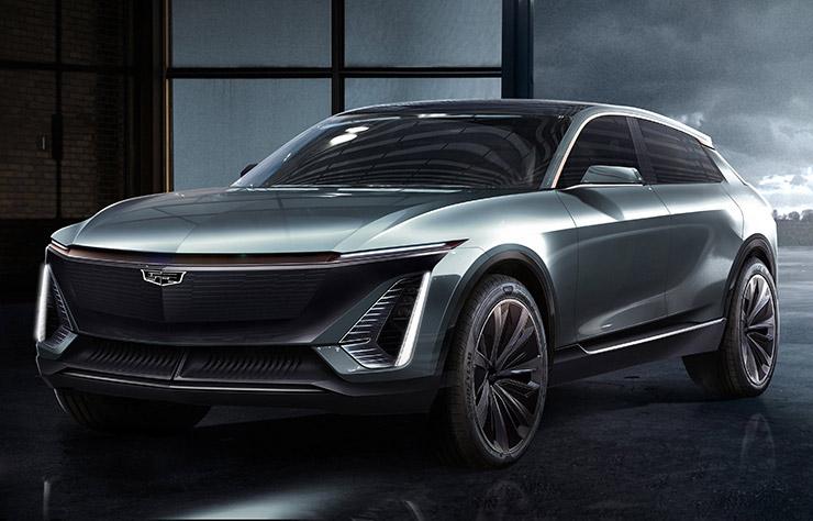 Concept de Cadillac électrique