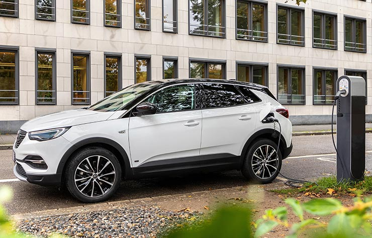 Opel Grandland hybride rechargeable