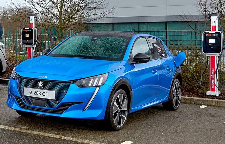 La Peugeot 208 électrique a un bonus de 6000 € en 2020 seulement