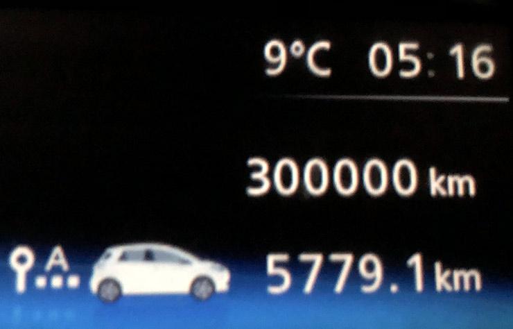 Renault Zoé à 300000 km