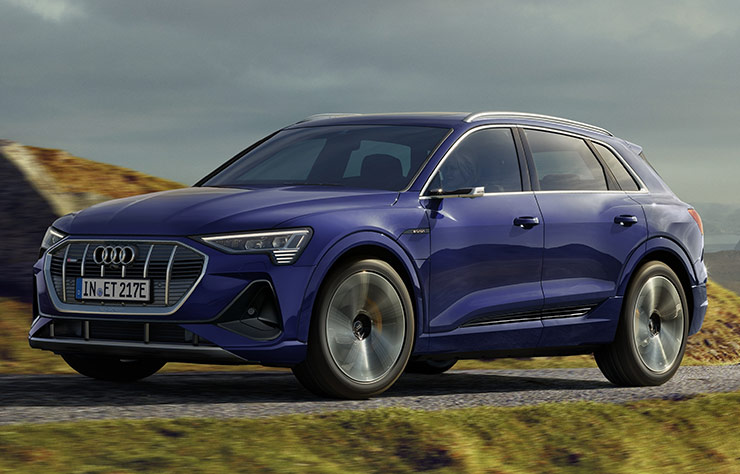 Audi e-tron électrique