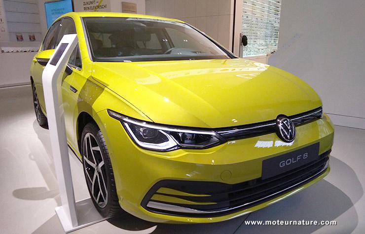 Volkswagen Golf 8 hybride