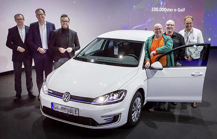 Volkswagen eGolf électrique