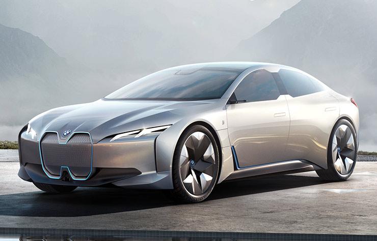 BMW i4 électrique concept