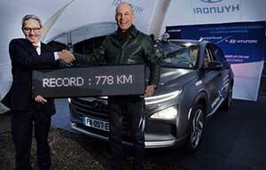 778km sans ravitailler pour la Hyundai Nexo à hydrogène