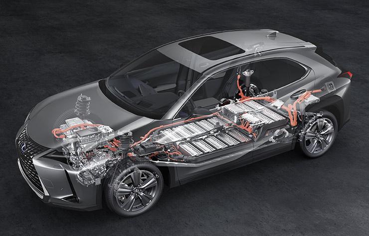 Lexus UX300e électrique