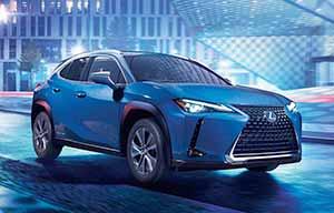 La première Lexus électrique est l'UX 300e