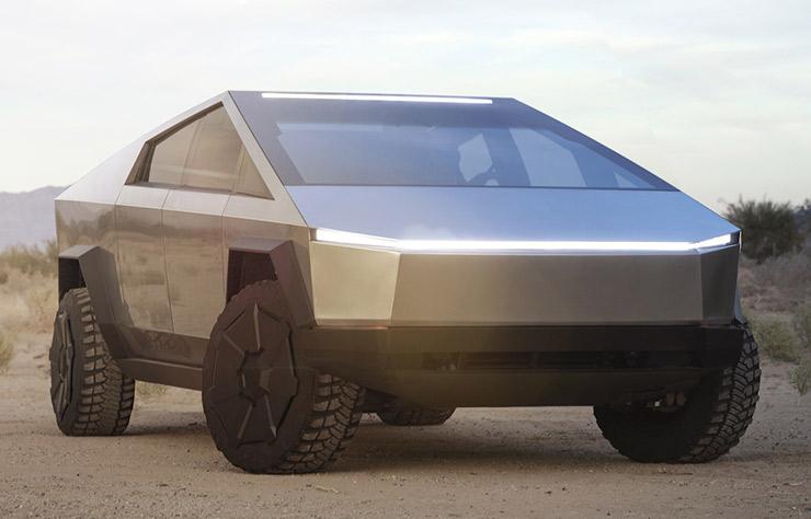 Tesla Cybertruck électrique