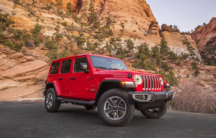 Jeep Wranger diesel
