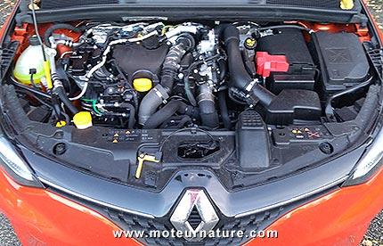 Renault Clio Blue dCi 85 diesel