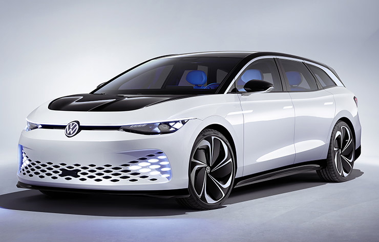 Concept électrique Volkswagen I.D. Space Vizzion