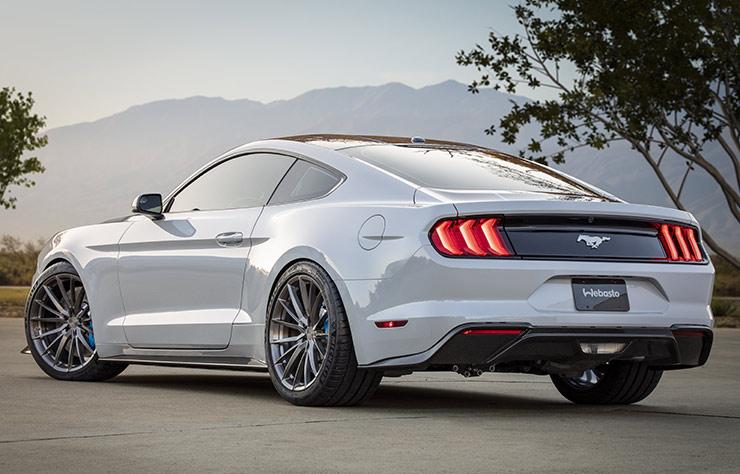 Concept de Ford Mustang Lithium électrique