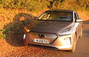 Hyundai Ioniq EV, prise en mains