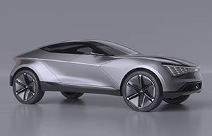 Futuron Concept, superbe Kia électrique