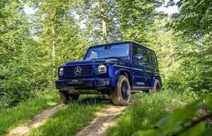 Mercedes fera une version électrique de son classeG