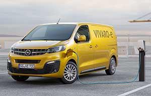Opel Vivaro-e électrique, lui aussi