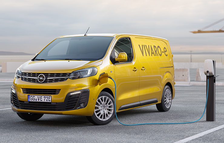 Opel Vivaro-e électrique