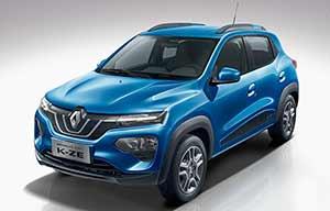 Renault va importer de Chine la petite K-ZE électrique