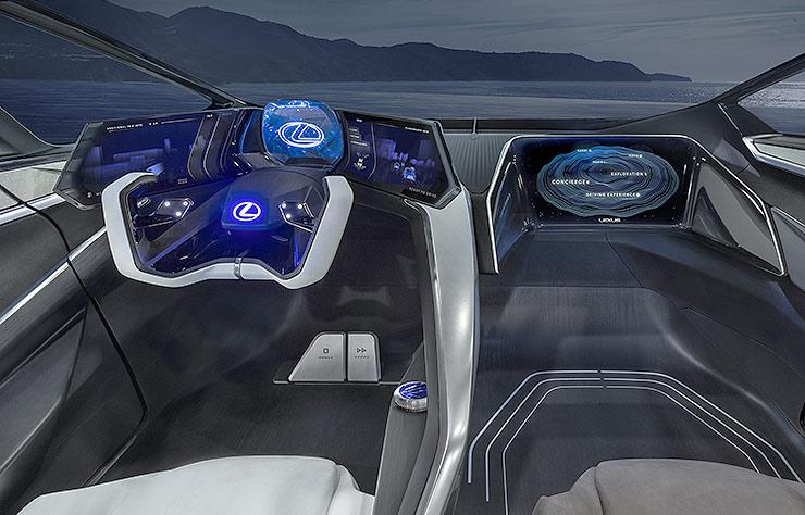 Concept électrique Lexus LF-30