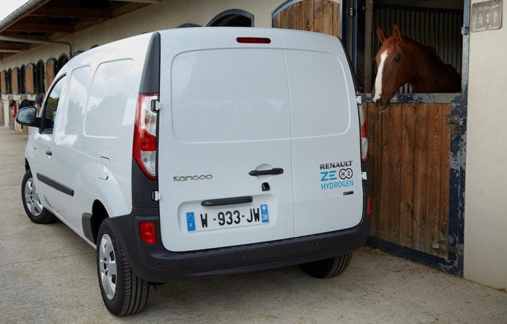 Renault Kangoo Z.E. avec prolongateur d'autonomie à l'hydrogène