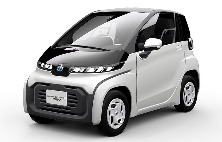 Concept Toyota de véhicule électrique ultra-compact