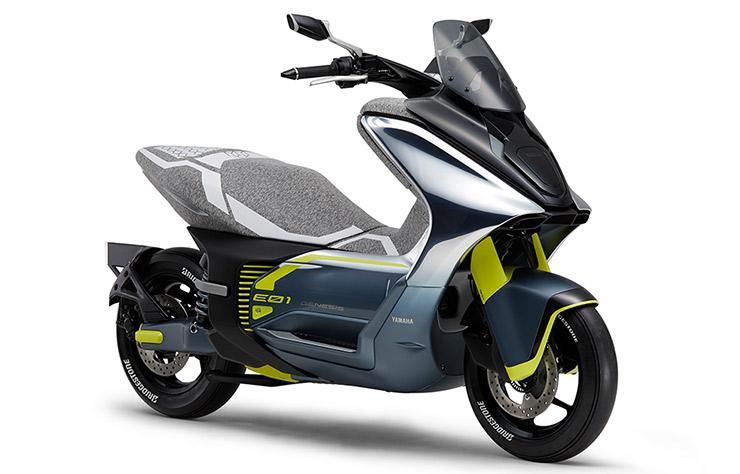 Scooter électrique Yamaha e01