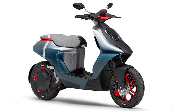 Scooter électrique Yamaha e02