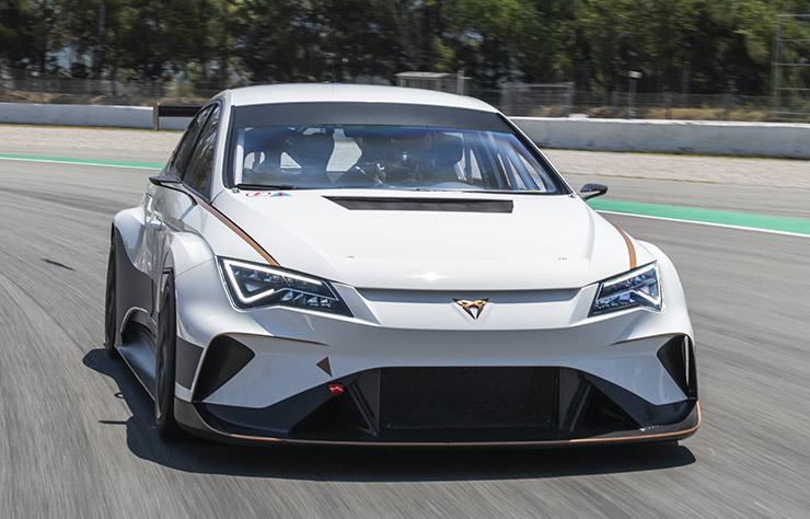 Voiture électrique de compétition Cupra e-Racer