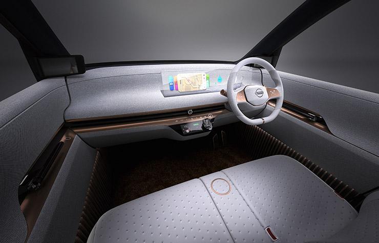 Concept électrique Nissan IMk