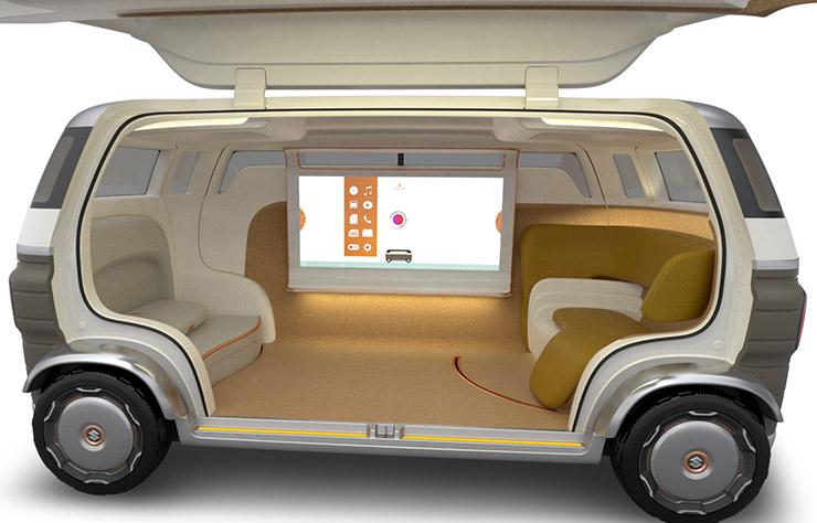 Concept électrique autonome Suzuki Hanare