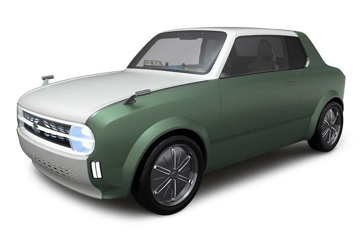 Suzuki Waku Spo concept hybride rechargeable