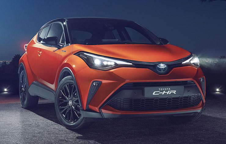 Toyota C-HR hybride
