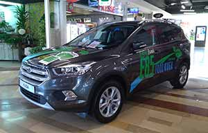 Ford Kuga flexifuel superéthanol E85, écolo et disponible