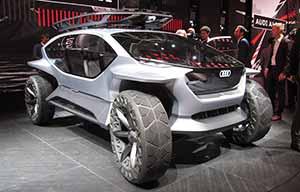 Audi AI:Trail, une nouvelle approche