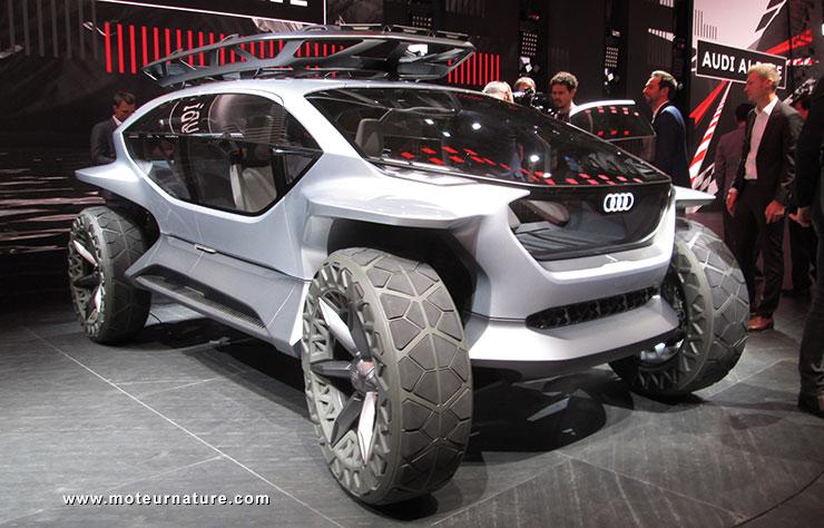 concept-car électrique Audi AI:Trail