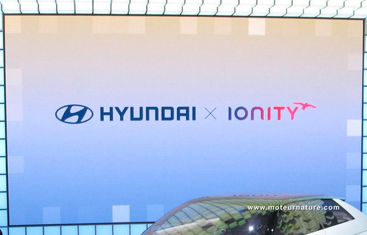 Annonce du partenariat lors de la conférence de presse Hyundai