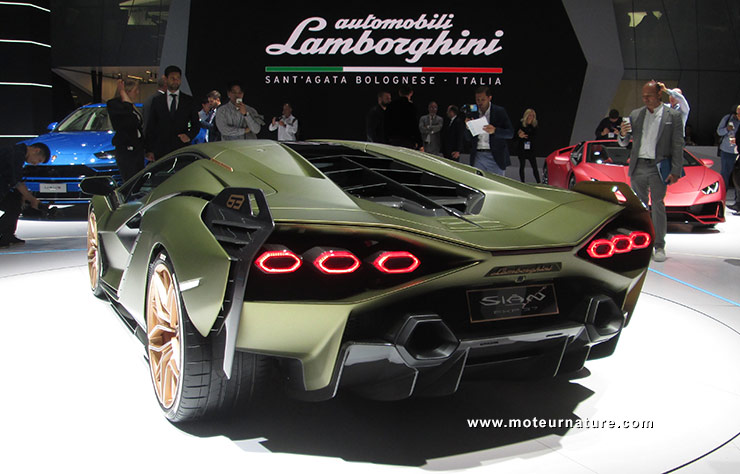 Lamborghini Sian KFP 37