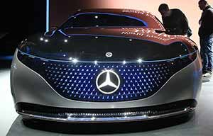 Mercedes Vision EQS, un certain manque de... Substance